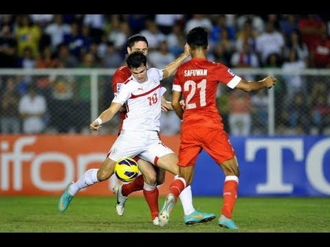 FULL MATCH (SF1): Philippines vs Singapore - AFF Suzuki Cup