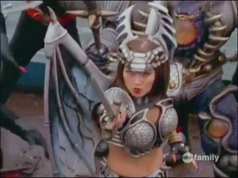 Jennifer L Yen and Ruta Lee in the Power Rangers with long nails