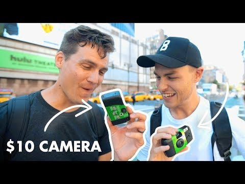 Can You Take Good Photos With A $10 Camera? | Disposable Film Camera Challenge