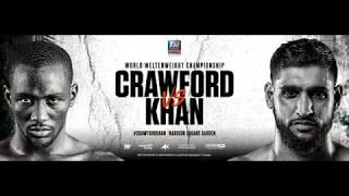 Crawford-Khan, Lopez-Tatli weigh in; FIGHTING TONIGHT, AT THE MECCA