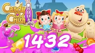 Candy Crush Soda Saga level 1432- No Boosters