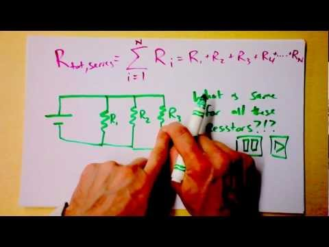 Series and Parallel DC Circuits Intro | Equivalent Resistances of Resistors Reduction | Doc Physics