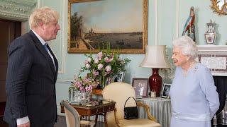 video: Queen calls Matt Hancock 'poor man' as she restarts in-person audiences with Boris Johnson