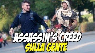 Assassin's Creed Origins Sulla GENTE ! - Prank