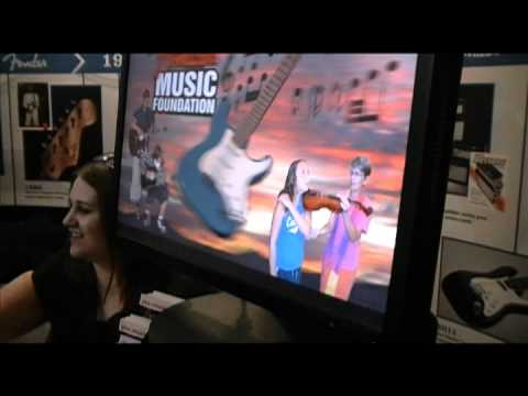 The Fender Music Foundation at The Namm Show!
