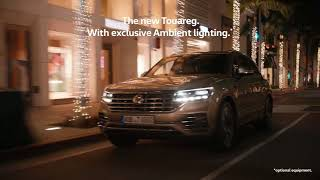 The new Volkswagen Touareg – with optional Ambient lighting