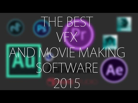 Best Movie Making and Vfx Software 2015 - 2016
