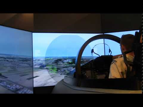ILA2018 - Eurofighter Typhoon Engineering Flight Simulator