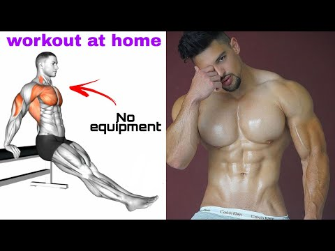 Workout at home // No equipment    full body workout at home