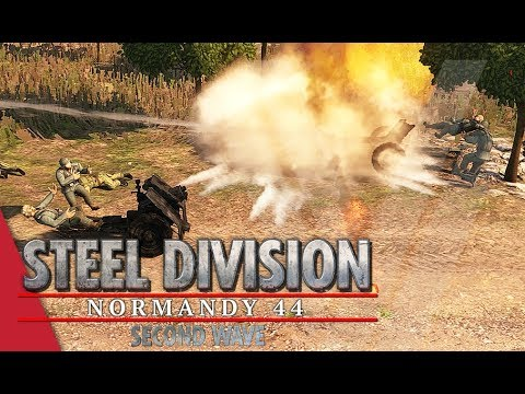 Too Much Time! Steel Division: Normandy 44 Gameplay (Caumont l'Éventé, 3v3)