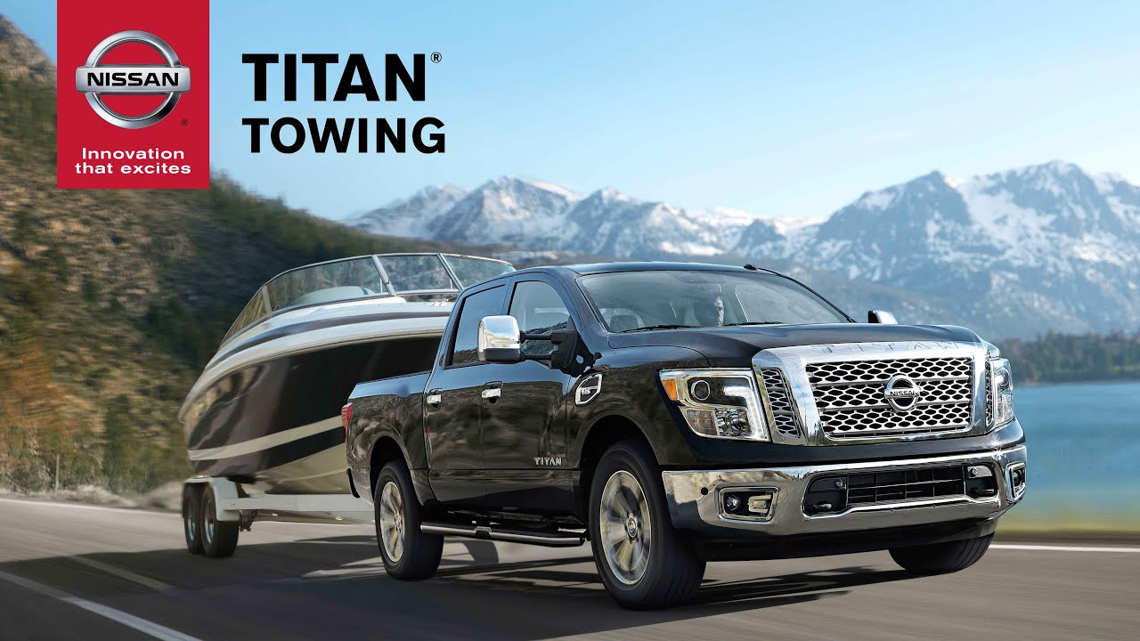 Nissan Rogue Towing Capacity >> 2017 Nissan Titan Towing Features Explained