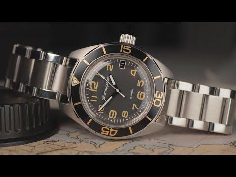 The Curious Case Of The Vostok 'Fifty Fathoms' - Vostok Komandirskie 030787 Watch Review