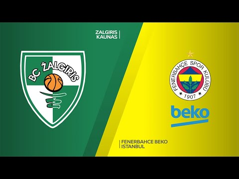 Zalgiris Kaunas - Fenerbahce Beko Istanbul Highlights | Turkish Airlines EuroLeague, RS Round 15