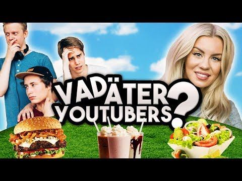 VAD ÄTER YOUTUBERS? Therese Lindgren och IJWTBC