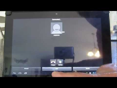 How To Use Your Android Tablet To Initiate And Recieve Voice Phone Over Wi