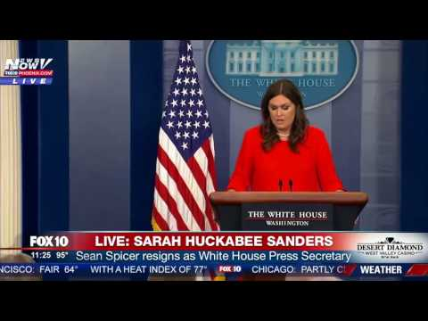 BREAKING: Sean Spicer RESIGNS; Sarah Huckabee Sanders Will Be New Press Secretary (FNN)