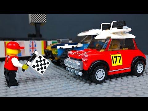 ЛЕГО Мультики про Машинки 🔴🏁 Автогонки в LEGO City