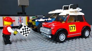 ЛЕГО Мультики про Машинки 🔴🏁 Гонки Ралли в LEGO City