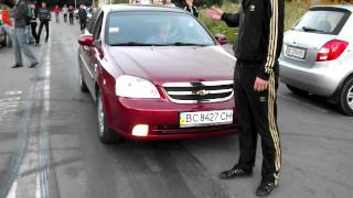 Chevrolet Lacetti 1.8 vs BMW 318 1.8  part 1