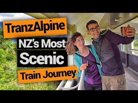 TranzAlpine Train: The Most Scenic New Zealand Train Journey – New Zealand's Biggest Gap Year