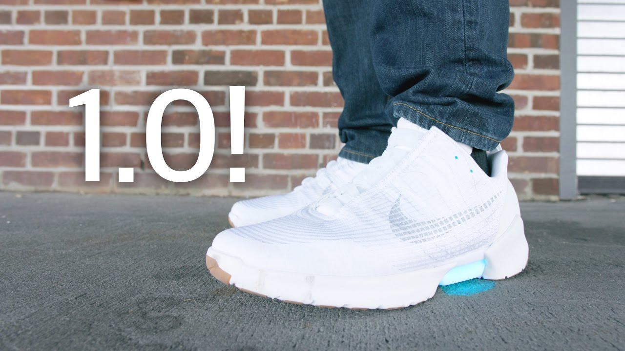 new arrival 3532f 10e49 Dope Tech Self Lacing Nike HyperAdapt 1.0! - YouTube