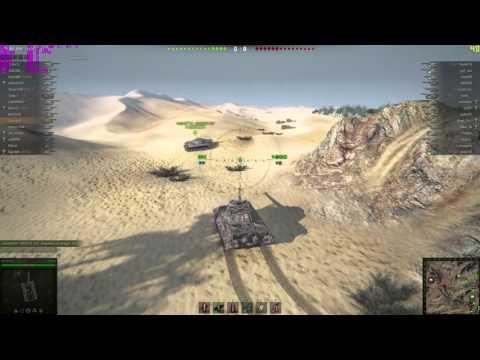 Тестирование компьютера AMD Athlon X4 840 (33077) игра World of Tanks.