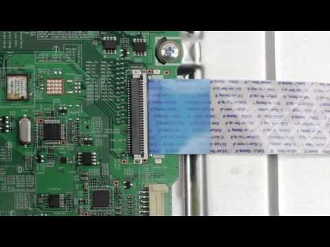 tv-ribbon-cable-connector---how-to-install-and-remove