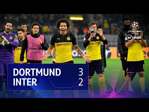 Dortmund vs Inter (3-2) | UEFA Champions League Highlights