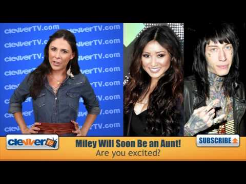 Brenda Song & Trace Cyrus Expecting Baby