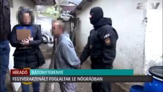 """""""Ő nagyon jó ember"""": kiszállt a TEK, fegyverarzenál Nógrádban"""