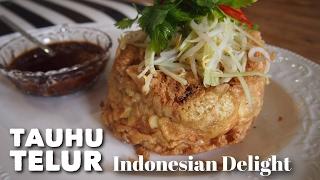 Super Yummy Recipe! Tauhu Telur / Fried Egg w/ Tofu