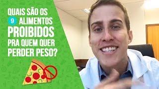 Quais são os 9 alimentos PROIBIDOS pra quem quer PERDER PESO? | Dr. Juliano Pimentel thumbnail