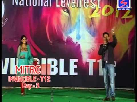 SONG BY DEEPTI MAM IN CAMPUS OF ALWAR'S 1 RANK - ALWAR RAJSTHAN BEST COLLEGE MITRC LOCATED IN ALWAR