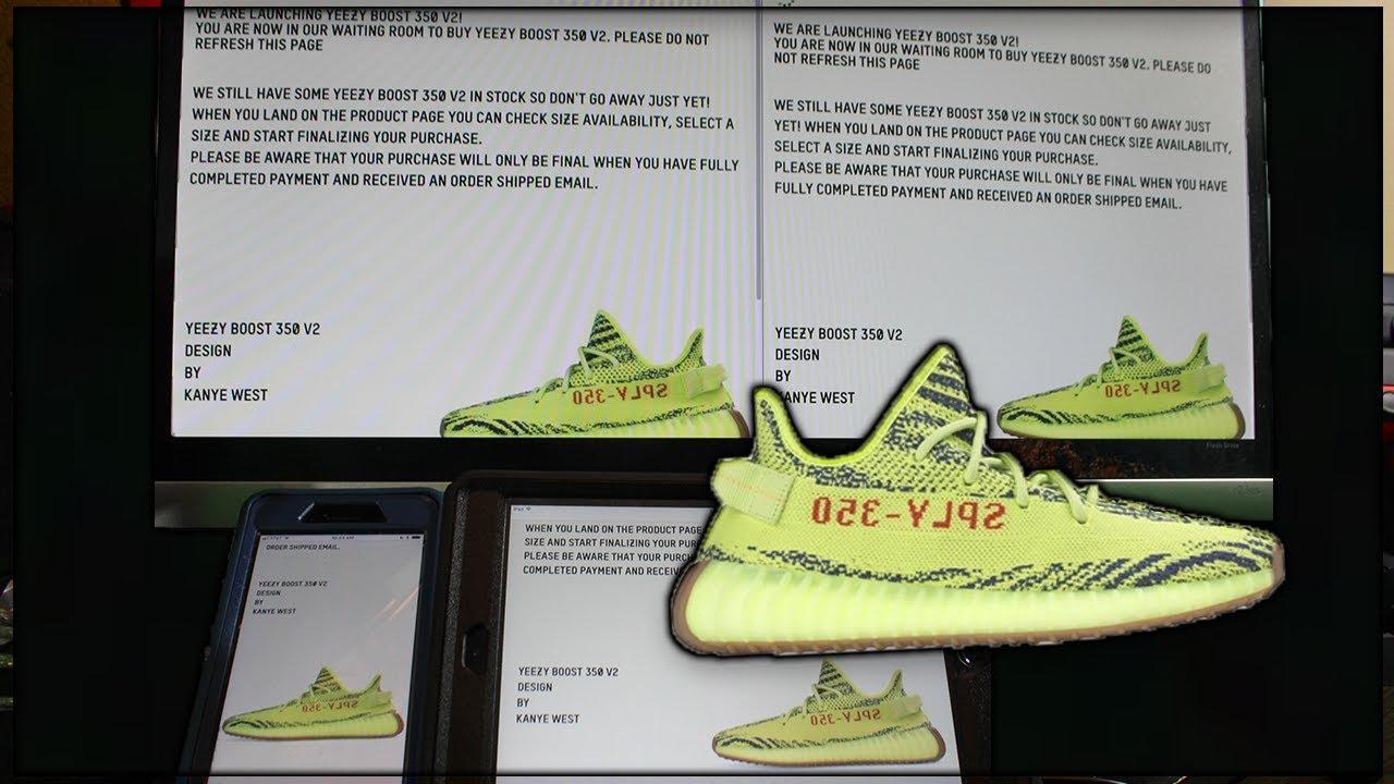 adidas yeezy semi frozen yellow online