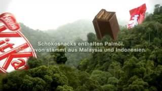 Greenpeace y Nestlé enfrentadas por el aceite de palma