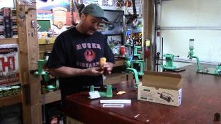 wbr video 122 redding model 2400 case trimming lathe unboxing