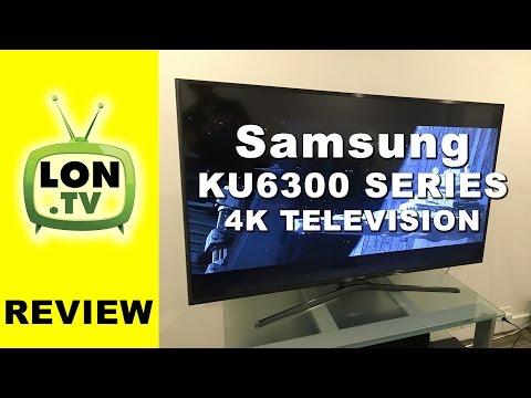 Samsung KU6300 Series 4k Television Review - UN55KU6300 UN50KU6300 UN60KU6300