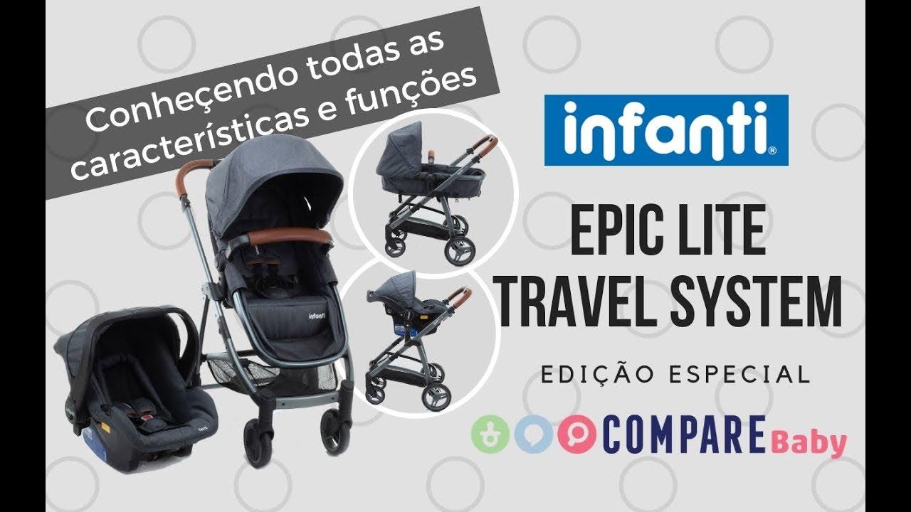994aa93ab Carrinho EPIC Lite INFANTI TS | Conheça a Edição ESPECIAL deste ...