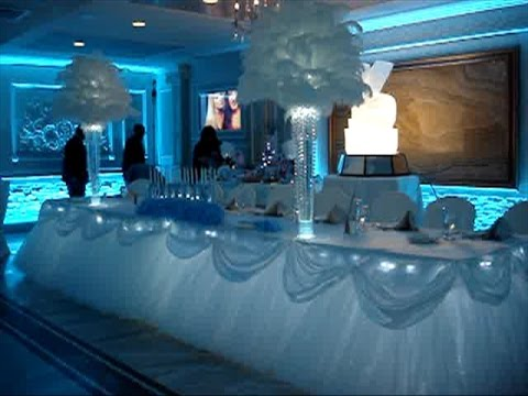 Cinderella themed sweet 16 rentals at jericho terrace for Terrace party decoration