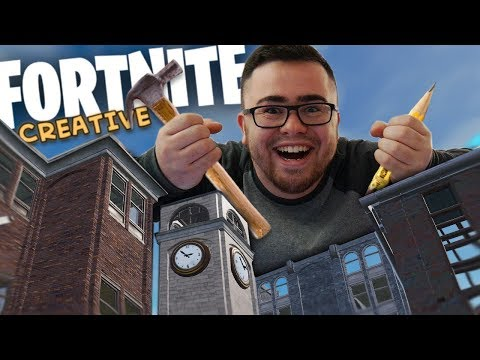 CREATING MY OWN CITY IN FORTNITE | Fortnite: Creative