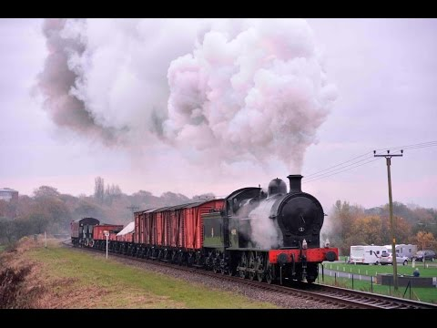 LNWR 'SUPER D' 0-8-0 49395 WITH A MIXED GOODS ON THE EAST LANCS RAILWAY - 10th November 2011
