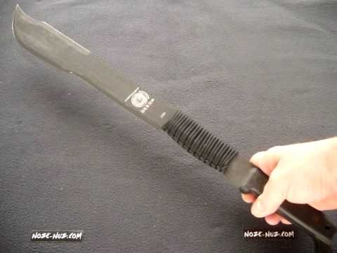 Review Of The British Army Special Forces Jungle Machete