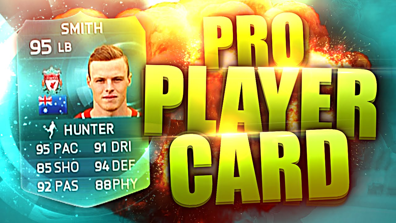 95 pro player card  youtube