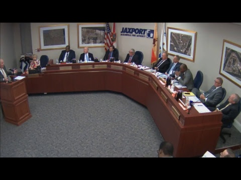 August 28, 2017 JAXPORT Board of Directors meeting