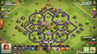 PRIMEIRO VIDEO DO CANAL: como atacar e dar pt em qualquer cv8(clash of clans)