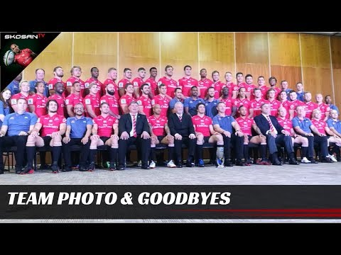 Emirates Lions 2017 Super Rugby Team Photo & Goodbyes | Courtnall Skosan