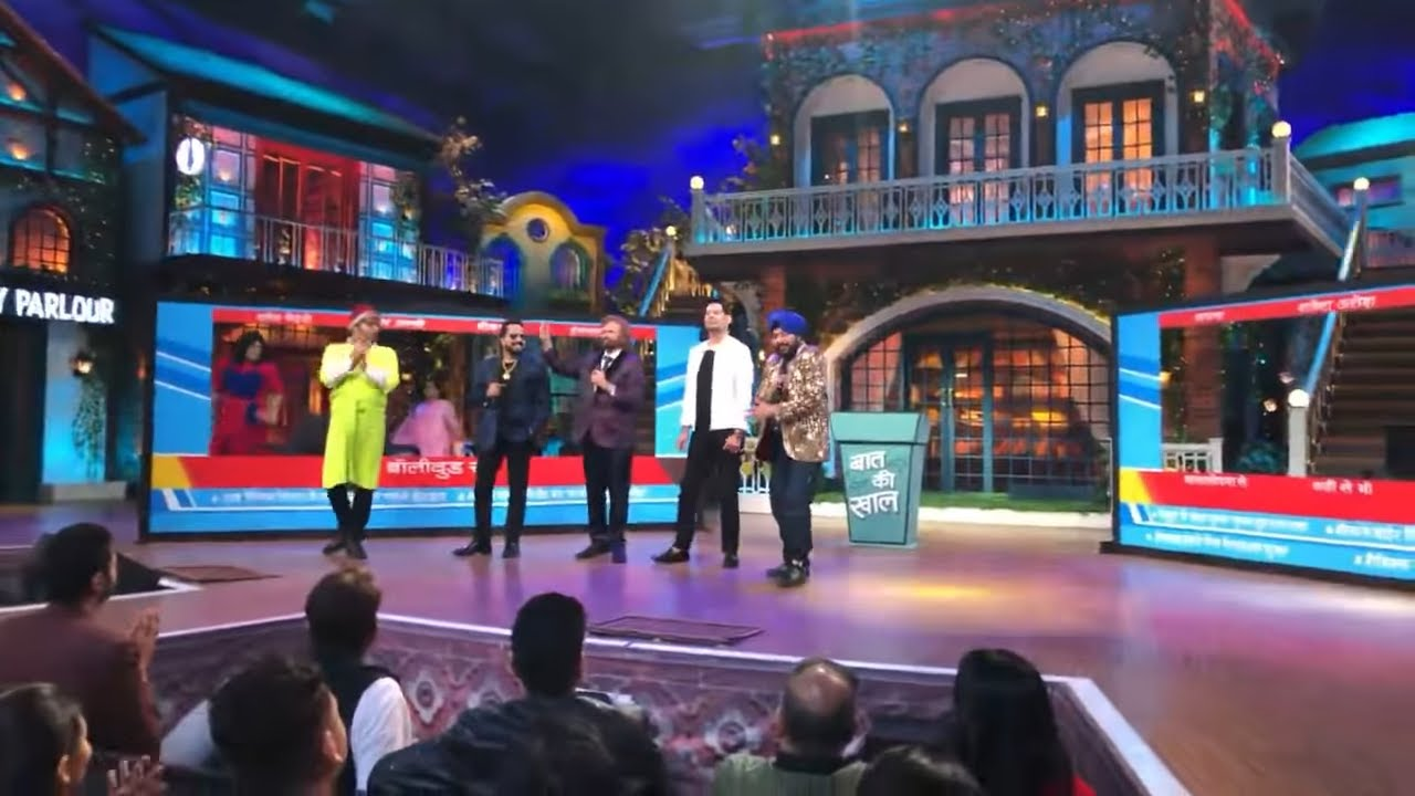 Live from The Kapil Sharma Show   Mika Singh   Daler Mehndi   Hans Raj Hans    Jasbir Jassi