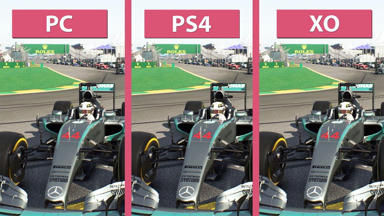 f1 2015 pc vs ps4 vs xbox one graphics comparison 60fps fullhd youtube. Black Bedroom Furniture Sets. Home Design Ideas