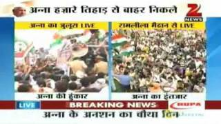 Video Anna Hazare Rally from Tihar to Ramlila August 19 '11 download MP3, 3GP, MP4, WEBM, AVI, FLV Juli 2018