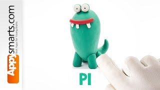 Play Dough Pi (or Pie?) - simple tutorial from Hey Clay game